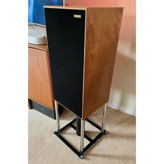 Harbeth SHL5 Custom Built FS 104 Signature Speaker Stand Support